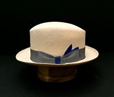 5a70a802651 Panama Hat New Straw Hand Made Fedora Size 7 1 8   57 cm