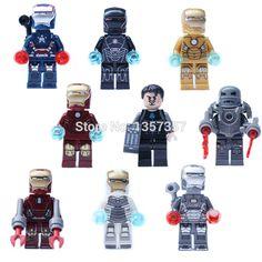 Blocks Single Sale Star Wars Superhero Marvel Avengers Jedi Master Anakin Building Blocks Action Model Bricks Toys For Children Modern Techniques Model Building