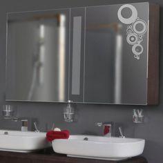 (3086g) Nálepka na zrkadlo - Kruhový ornament   ARTSABLONY.SK