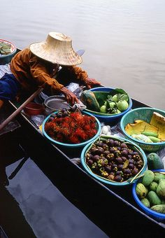 Fruit Seller - Thailand