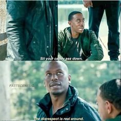 Tej & Roman | Furious 7 Tv Show Quotes, Movie Quotes, Funny Quotes, Funny Memes, Hilarious, Fast And Furious Memes, Fast And Furious Actors, Furious Movie, The Furious