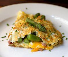 Receta de tortilla de espárragos trigueros o verdes - El Aderezo - Blog de Cocina