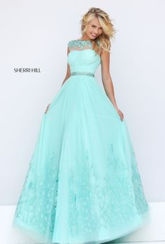 2016 Sherri Hill 50186 Sexy Beaded Sheer Girl Prom Dress - Click Image to Close Sexy Homecoming Dresses, Prom Girl Dresses, Sherri Hill Prom Dresses, Prom Dresses 2016, Tulle Prom Dress, Grad Dresses, Cheap Prom Dresses, Dance Dresses, Ball Dresses