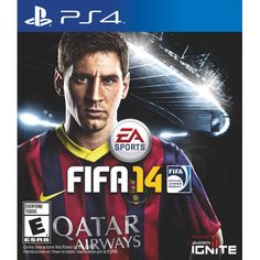 Black Friday 2014 FIFA 14 - Xbox One from Electronic Arts Cyber Monday. Black Friday specials on the season most-wanted Christmas gifts. Playstation Games, Xbox One Games, Ps4 Games, Games 2017, Sports Football, Ea Sports, Sports Games, Victor Hugo, Fifa 14 Ps4