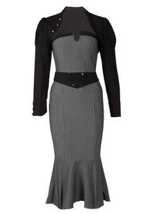 plus size pin up girls | bolero pin up brandee grise gothique goth gothic robe bolero pin up ... HTTP://WWW.DAKINKYKIDSPEAKS.COM