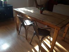 1934 DINING CHAIR BY TOLIX | Apartment | Pinterest | Dining chairs ...