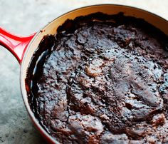 Nutella Chocolate Cobbler...This sounds beyond delicious, especially topped with vanilla ice cream!
