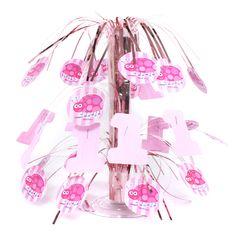 Ladybug 1st Birthday Pink Centerpiece $3.00