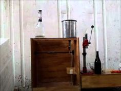 While searching for homebuilt winery disgorging freezer in Google I found this handsome crown capper used by someone in ...Australia?