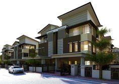 semi detached house singapore - Penelusuran Google Semi Detached, Detached House, Town House, Singapore, Mansions, Architecture, House Styles, Google, Home Decor