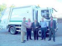 Xa está operativo o novo vehículo de recollida do lixo