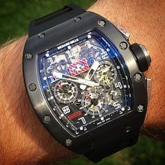 Bespoke Richard Mille RM11 'Felipe Massa' from Titan Black