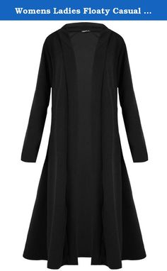 Womens Ladies Floaty Casual Waterfall Long Sleeves Open Front Maxi Long Cardigan. New in Fashion Brand New Condition Womens Floaty Casual Waterfall Maxi Long Cardigan Long Sleeves Open Front Stretchy 95% Polyester 5% Elastane Available In Sizes: Plus Size (US 12/14), Plus Size (US 16/18), Plus Size (US 20/22) Available In Colors: Black, Wine, Khaki, Camel Soft, Stretchy and Comfortable Material Ideal for All Occasions Machine Washable Please Read Washing Instructions Product Code: 3144…