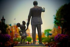Remember that it all started with a mouse - Matt Pasant via Flickr #waltdisney #mickey #mickeymouse