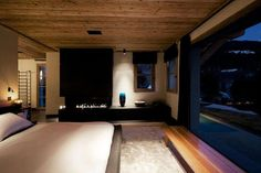 Contemporary Chalet Cyanella Mountain Cabin in French Alps (11)