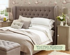 Double Winged Iona Headboard