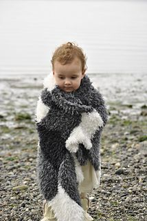 Caribou Checks Blanket HiKoo Caribou is a super soft and fluffy yarn. Which makes it perfect for kids' blankets.