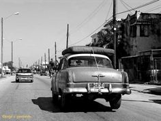 Old car in Havana.
