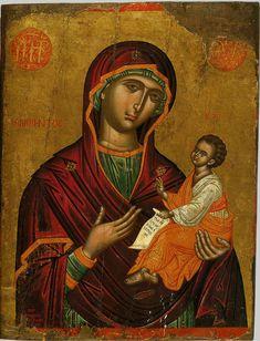 Byzantine Icons, Byzantine Art, Religious Icons, Religious Art, Greek Icons, Paint Icon, Best Icons, Madonna And Child, Catholic Art
