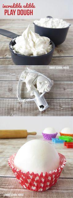 A simply sweet recipe for Incredible Edible Play Dough!