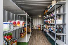Our storage containers are super spacious, measuring a massive 6m x 2,4m.   #topshell #onsite #storage #containers #containerstorage #containerideas #store #containerconversion #storagesite #selfstorage #storageideas #storageorganization #supplies #buildingsite #constructionsite