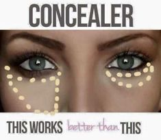 My LimeLight by Alcone TIP OF THE DAY! Our Botanical foundation & concealers are world class professional grade products!  Concealer Tip #1:  The TRIANGLE method helps hide imperfections and highlight eyes. The moon technique actually makes bags and imperfections more visible.  Tip #2: Use concealer AFTER foundation. This wastes less product, and allows you to conceal what your foundation doesn't. #limelight #limelightbyalcone #rcma #foundation