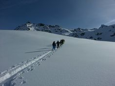 Back country skiing with the gang - Rosablanche