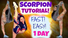 How to Learn a SCORPION - in ONE DAY! youtube.com/americancheerqueen