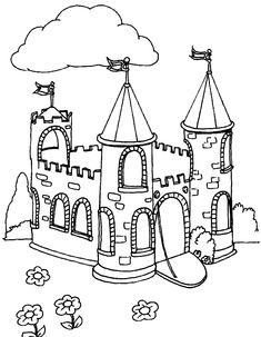 Disney Castle Coloring Page Fresh Castle Coloring Pages Crafts for the Kids Peppa Pig Coloring Pages, Toy Story Coloring Pages, Shark Coloring Pages, Paw Patrol Coloring Pages, Frozen Coloring Pages, Fish Coloring Page, Dragon Coloring Page, Fairy Coloring Pages, Pattern Coloring Pages