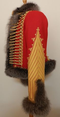 side view - French 1st Empire: colonel-major of the chasseurs à cheval of the guard