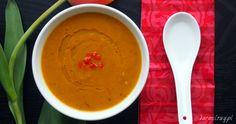 Zupa ze słodkich ziemniaków i chorizo Jamiego Olivera