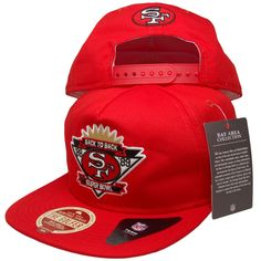 more photos d124a 7b8d8 BAY AREA x NINERS x NEW ERA San Francisco 49ers, Custom Embroidery, Snapback  Hats