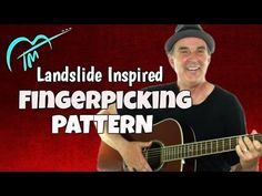 Here's how to play Landslide inspired fingerpicking pattern on your acoustic guitar.  FREE NOTES & TABS:   http://tomasmichaud.com/fingerpicking-landslide   This is a fairly easy lesson but will take some practice. This fingerpicking pattern is a common pattern used in pop/rock music including the song Landslide by Fleetwood Mac.  #guitar #fingerpicking #guitarlesson
