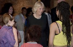 Camilla Parker Bowles Photos - Camilla, Duchess of Cornwall Attends a Performance at the Roundhouse - Zimbio