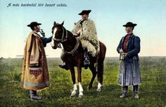 Hungarian traditional horsemen cloaks