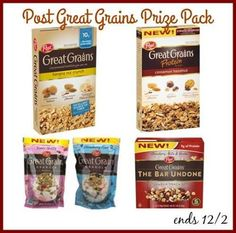 Cereal is a food that can really be eaten any time of day, not just in the mornings. Post has some great options for everyone!