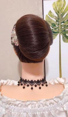 Wedding Hairstyles Tutorial, Braided Hairstyles Tutorials, Diy Hairstyles, Easy Hair Up, Braids For Long Hair, Hair Up Styles, Medium Hair Styles, Frozen Hair Tutorial, Hair Style Vedio