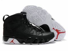 premium selection 7ac11 a0077 Air Jordan 9 IX Retro Black True Red White Jordans 2014, Newest Jordans,  Cheap