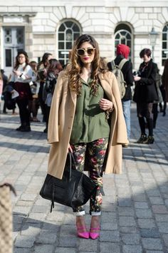 street fashion | fashion week street style 8 600x905 HTC Presents: London Fashion ...