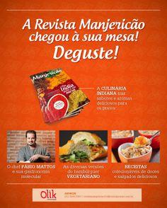 Designed by Lais Pancote :: E-MAIL MKT :: MANJERICÃO MAGAZINE #1 :: OLIK COMUNICAÇÃO :: july/2013