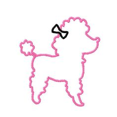 poodle silhouette - Google Search