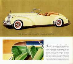 1940 Packard Super-8 One-Eighty Convertible Victoria by Darrin