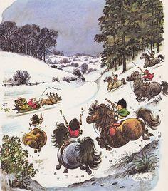 Christmas Thelwell