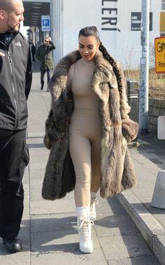 kuwkimye: Kim out in Reykjavik, Iceland - April. - one of dash dolls Khloe Kardashian, Robert Kardashian, Kardashian Kollection, Kendall, Kim K Style, Magazine Mode, Outfit Look, Looks Chic, Jenner Style