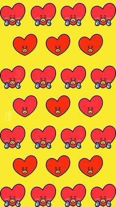 Cartoon Wallpaper, Bts Wallpaper, Bts Taehyung, Bts Bangtan Boy, Bt 21, Bts Birthdays, Bts Backgrounds, Bts Chibi, Line Friends