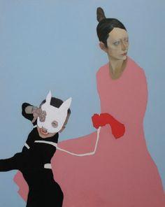 Artodyssey: Francesco Merletti Figure Painting, Painting & Drawing, What Is Contemporary Art, Found Art, Paintings I Love, Community Art, Artist Art, Figurative Art, Cat Art
