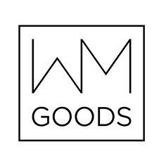 WM GOODS - Yeah, font and logo