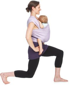 Carrymeaway.com exercises to do with the baby carrier