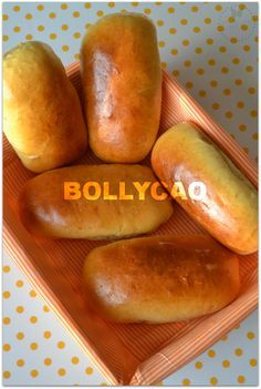 bollycao-thermomix Food N, Good Food, Food And Drink, Pan Dulce, Pan Bread, Portuguese Recipes, Spanish Food, Flan, Hot Dog Buns