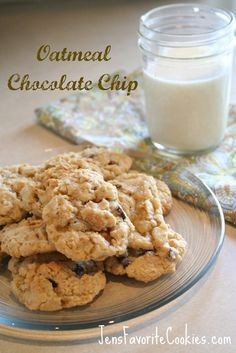 Oatmeal Cookies with Chocolate Chips and Peanut Butter Chips | Jen's Favorite Cookies